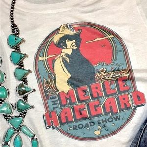 Graphic Tee Merle Haggard Country
